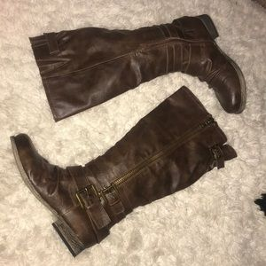 Talk brown boots